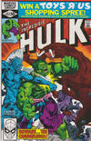 Cover Thumbnail for The Incredible Hulk (1968 series) #252 [direct edition]