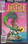 Cover for Justice (Marvel, 1986 series) #3 [Newsstand Edition]