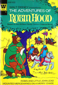 Cover Thumbnail for Walt Disney Productions The Adventures of Robin Hood (Western, 1974 series) #1 [Whitman Variant]