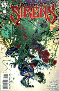 Cover Thumbnail for Gotham City Sirens (DC, 2009 series) #15