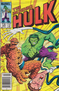 Cover Thumbnail for The Incredible Hulk (Marvel, 1968 series) #293 [Canadian Newsstand]