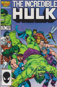 Cover Thumbnail for The Incredible Hulk (Marvel, 1968 series) #322 [Direct Edition]