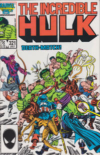 Cover Thumbnail for The Incredible Hulk (Marvel, 1968 series) #321 [Direct Edition]