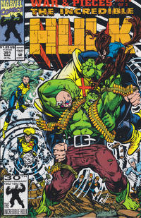 Cover Thumbnail for The Incredible Hulk (Marvel, 1968 series) #391 [direct]