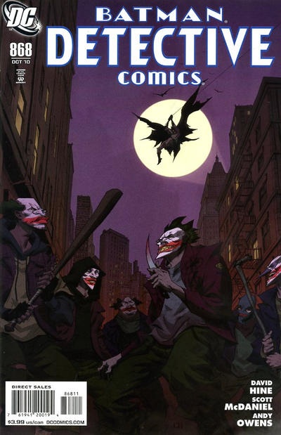 Cover for Detective Comics (1937 series) #868