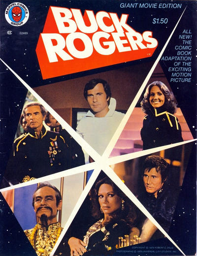 Cover for Buck Rogers [Giant Movie Edition] (Western, 1979 series) #11296 [Whitman Variant]