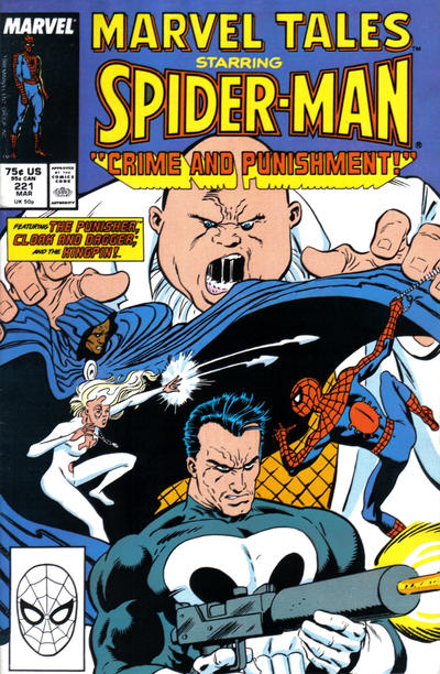 Cover for Marvel Tales (1966 series) #221 [Direct Edition]