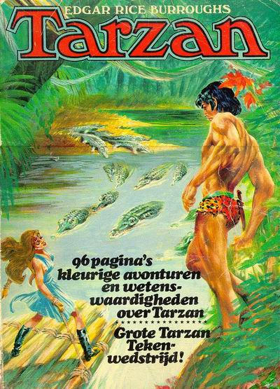 Cover for Groot Tarzan-boek (Classics/Williams, 1971 series) #4