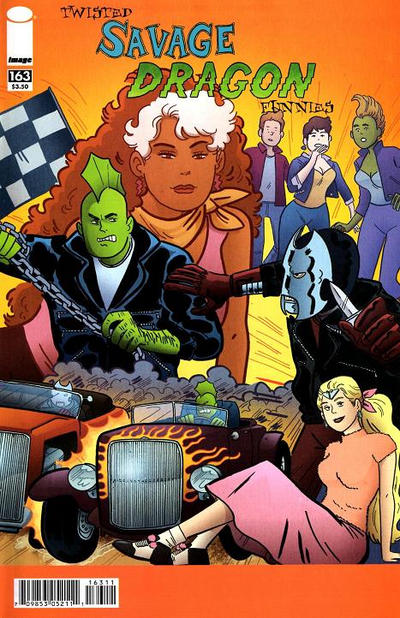 Cover for Savage Dragon (1993 series) #163