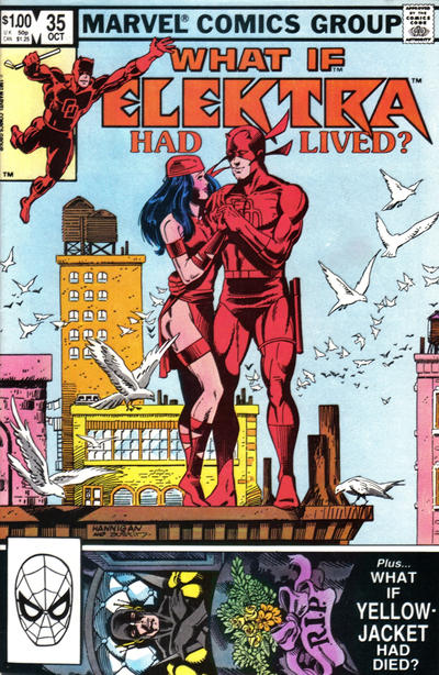 Cover for What If? (1977 series) #35 [Direct Edition]