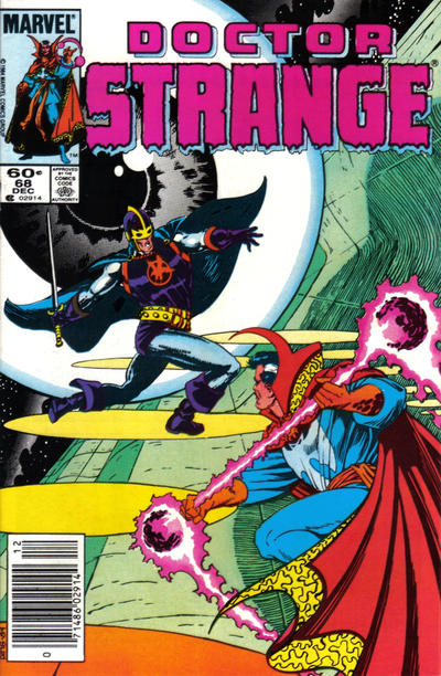 Cover for Doctor Strange (1974 series) #68 [Direct Edition]