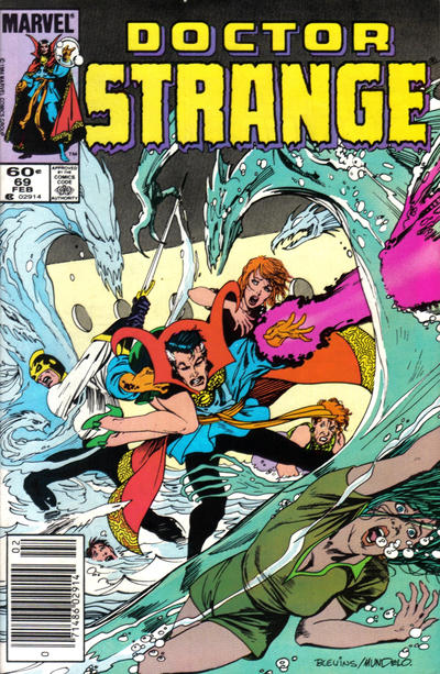 Cover for Doctor Strange (Marvel, 1974 series) #69 [Newsstand]