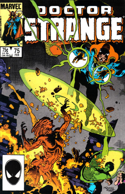 Cover for Doctor Strange (Marvel, 1974 series) #75 [Direct Edition]