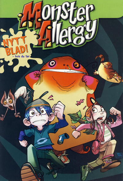 Cover for Monster Allergy (2004 series) #[introhefte]