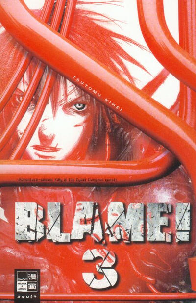 Cover for Blame! (2001 series) #3