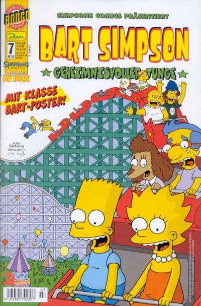Cover for Bart Simpson (2001 series) #7