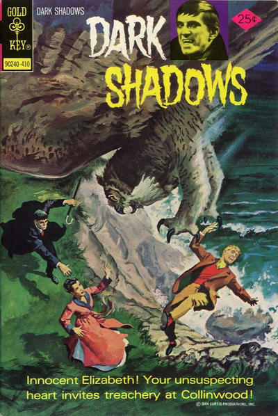 Cover for Dark Shadows (1969 series) #28 [Gold Key]