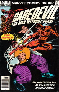 Cover Thumbnail for Daredevil (Marvel, 1964 series) #171 [Newsstand Edition]