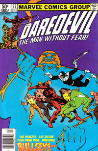 Cover Thumbnail for Daredevil (Marvel, 1964 series) #172