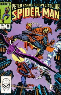 Cover Thumbnail for The Spectacular Spider-Man (Marvel, 1976 series) #85 [Direct Edition]