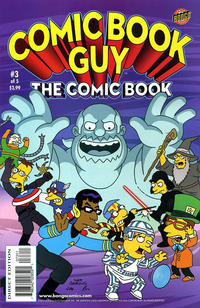 Cover Thumbnail for Bongo Comics Presents Comic Book Guy: The Comic Book (Bongo, 2010 series) #3