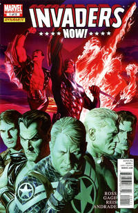 Cover Thumbnail for Invaders Now! (Marvel, 2010 series) #1