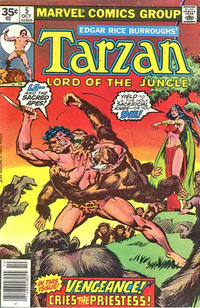 Cover Thumbnail for Tarzan (Marvel, 1977 series) #5 [35 cent cover price variant]