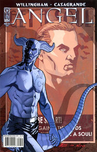 Cover Thumbnail for Angel (IDW, 2009 series) #33 [Cover B - David Messina]