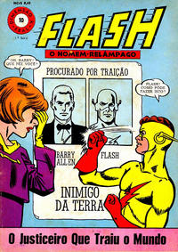 Cover Thumbnail for Dimenso K (1 Srie) [Flash] (Editora Brasil-Amrica [EBAL], 1967 series) #10
