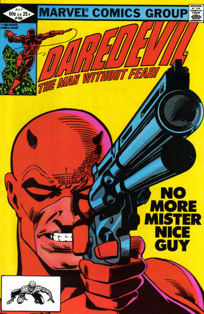 Cover for Daredevil (1964 series) #184