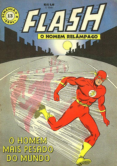 Cover for Dimensão K (1ª Série) [Flash] (1967 series) #13