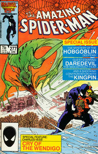 Cover Thumbnail for The Amazing Spider-Man (Marvel, 1963 series) #277 [Direct Edition]