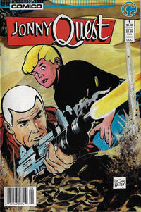 Cover Thumbnail for Jonny Quest (Comico, 1986 series) #1 [Newsstand Edition]