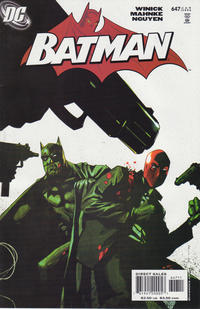 Cover Thumbnail for Batman (DC, 1940 series) #647 [Direct]