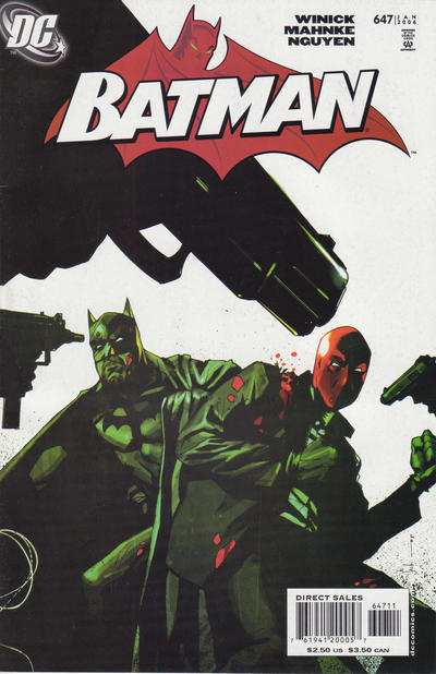 Cover for Batman (DC, 1940 series) #647 [Newsstand]