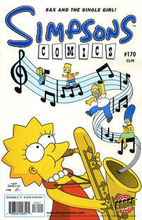 Cover Thumbnail for Simpsons Comics (Bongo, 1993 series) #170