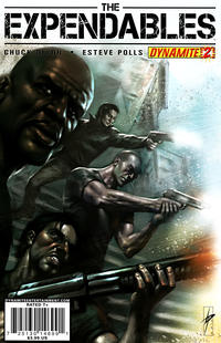 Cover Thumbnail for The Expendables (Dynamite Entertainment, 2010 series) #2