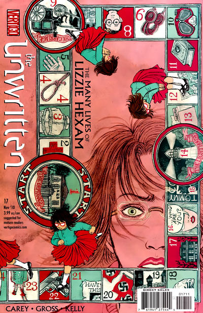 Cover for The Unwritten (DC, 2009 series) #17