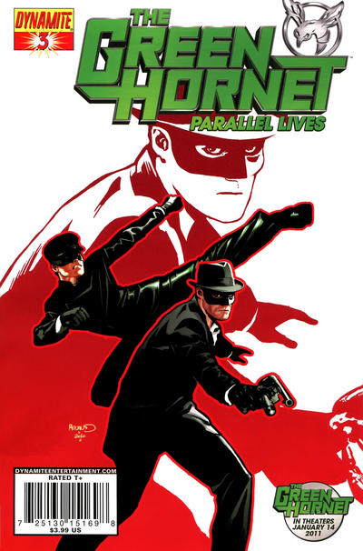 Cover for Green Hornet: Parallel Lives (2010 series) #3