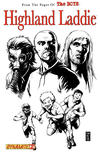 Cover for The Boys: Highland Laddie (Dynamite Entertainment, 2010 series) #2 [Black-and-White Variant]