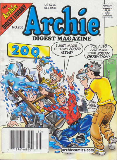Cover for Archie Comics Digest (Archie, 1973 series) #200 [Direct]