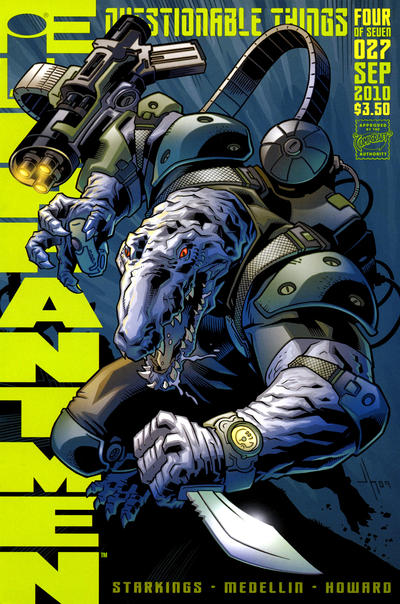 Cover for Elephantmen (Image, 2006 series) #27
