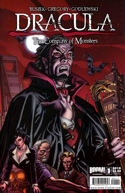Cover for Dracula: The Company of Monsters (Boom! Studios, 2010 series) #1