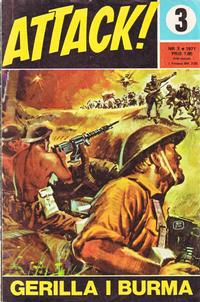 Cover Thumbnail for Attack (Semic, 1967 series) #3/1971