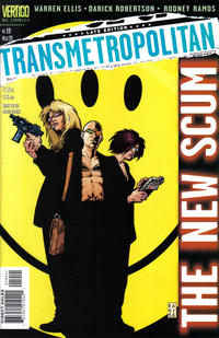 Cover for Transmetropolitan (1997 series) #19