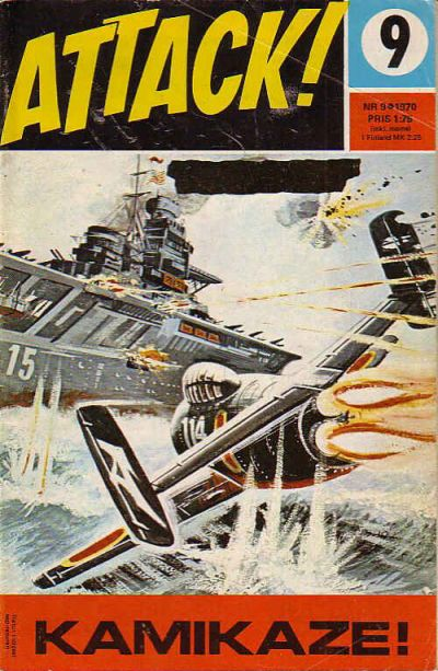 Cover for Attack (Semic, 1967 series) #9/1970