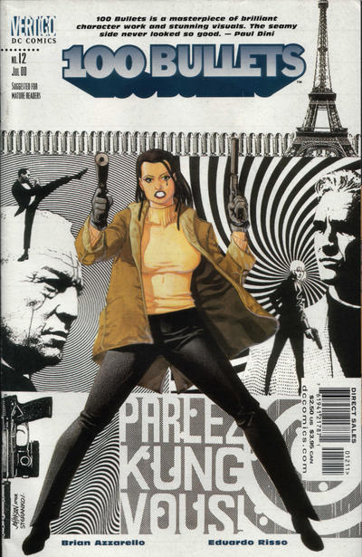 Cover for 100 Bullets (1999 series) #12
