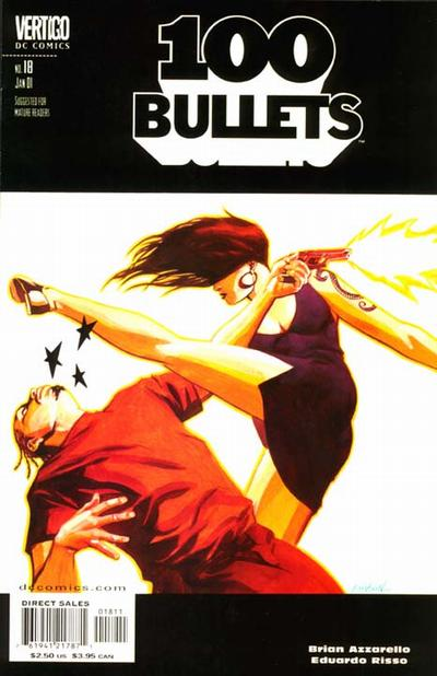 Cover for 100 Bullets (1999 series) #18
