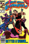 Cover Thumbnail for West Coast Avengers (1985 series) #44 [Newsstand Edition]