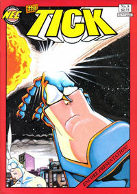 Cover Thumbnail for The Tick (New England Comics, 1988 series) #8 [later printings]
